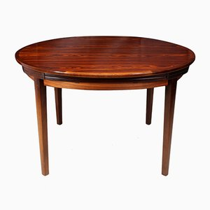 Flip Flap Lotus Table in Rosewood by Dyrlund, 1970s
