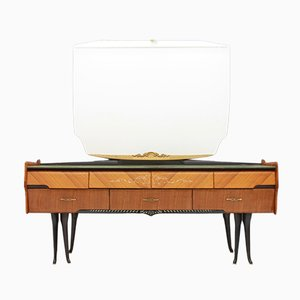 Italian Dressing Table with Horse Legs, 1959