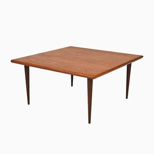 Table Basse en Teck, Danemark, 1950s