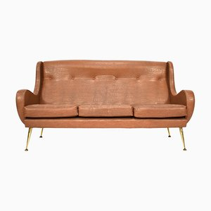 Sofa by Aldo Morbelli for Isa Bergamo, 1950s