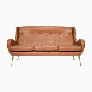 Sofa by Aldo Morbelli for Isa Bergamo, 1950s
