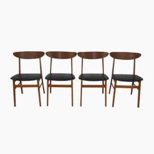 Vintage Esszimmerstühle von Farstrup, 4er Set