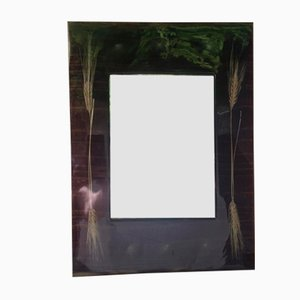 Vintage Mirror with Resin Frame