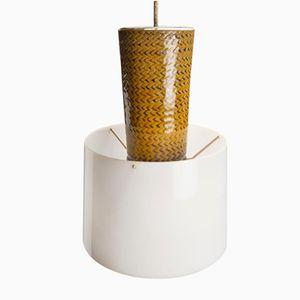 Lampe à Suspension Vintage en Grès