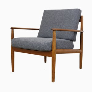 Vintage Danish Teak Armchair by Grete Jalk for Cado, 1960s