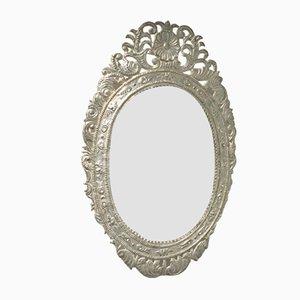 Vintage Wrought Metal Mirror