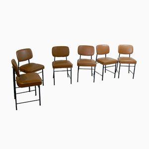 Chaises de Salon par Gerard Guermonprez, 1960s, Set de 6
