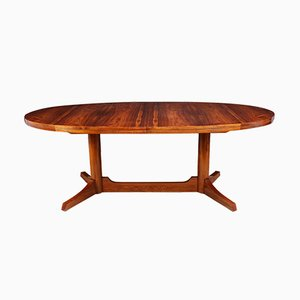 Mid-Century Rosewood Dining Table by Robert Heritage for Archie Shine, 1950s