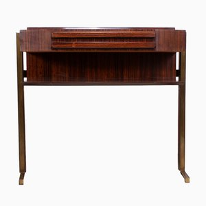 Mid-Century Italian Rosewood Console Table, 1960s