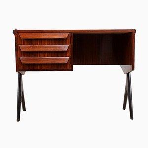 Mid-Century Italian Rosewood Desk, 1950s