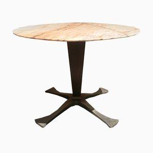 Mesa de comedor de mármol de Paolo Buffa, años 50