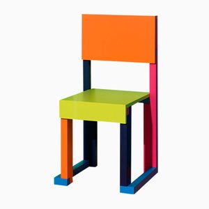 Silla EASYDiA Junior Amsterdam de Massimo Germani Architetto para Progetto Arcadia, 2017