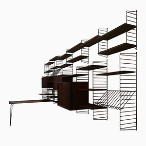 String Shelving Unit by Kajsa & Nisse Strinning, 1950s