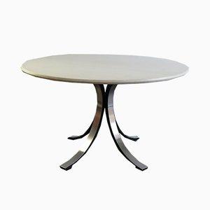 Table T69 en Marbre par Osvaldo Borsani & Eugenio Gerli pour Tecno, 1963