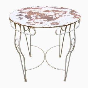 Mid-Century Painted Metal Garden Table
