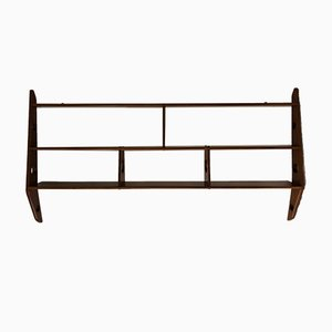 Vintage Solid Wooden Shelf with 3 Tiers