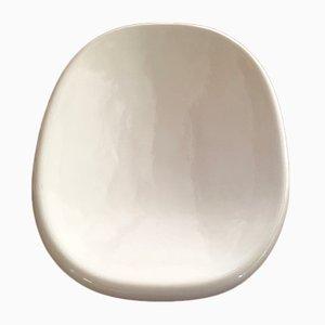 Cuenco vintage de cerámica de Angelo Mangiarotti para Danese