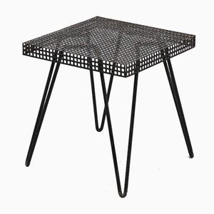 Metal Plant Table or Side Table, 1950s
