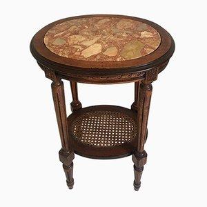 Petite Table d'Appoint de la Moitié du 19ème Siècle Louis XVI