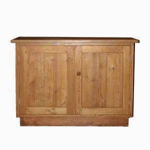 Aparador vintage pequeño de madera suave