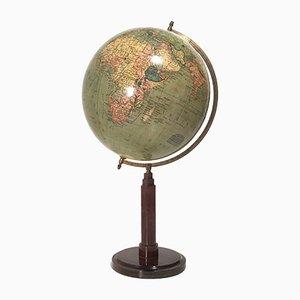 Vintage Globus von C. Luther für Columbus