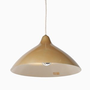 Golden Pendant Lamp by Lisa Johansson-Pape for Orno, 1950s