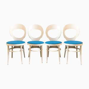 Model Mouette Side Chairs from Baumann, 1960s, Set of 4