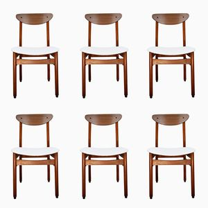 Vintage Scandinavian Chairs, Set of 6