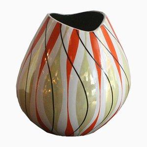 Jarrón de cerámica vintage de Aleluia