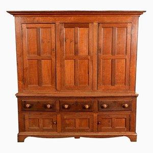 Large Georgian Housekeeper's Cupboard in Oak, 1820s