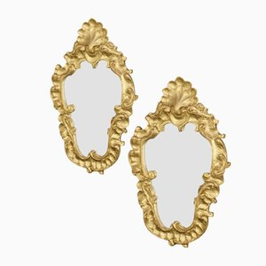 Vintage Venetian Mirrors, Set of 2