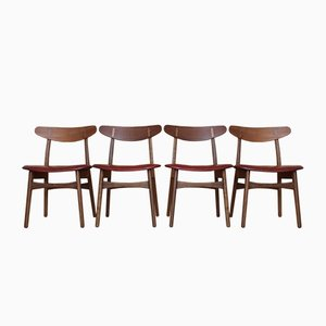 CH30 Dining Chairs by Hans Wegner for Carl Hansen & Son, 1952, Set of 4