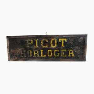 Picot Watchmaker's Sign, 1940s