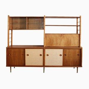 Mueble de pared modular de William Watting para Fristho, años 60