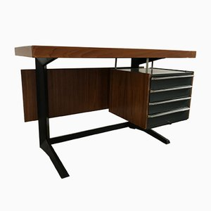 Desk by Daciano da Costa for Metalurgica da Longra, 1960s