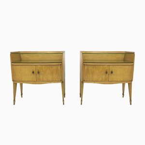 Tables de Chevet, Italie, 1950s, Set de 2