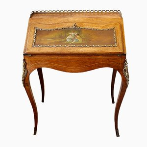 French Rosewood Writing Desk, 1880s