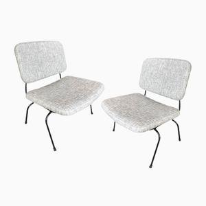 Slipper Chairs by Daciano da Costa for Metalurgica da Longra, 1960s, Set of 2