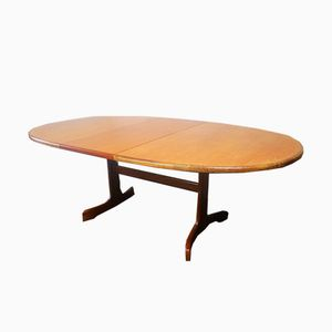 Mid-Century English Extending Dining Table from G-Plan, 1970s