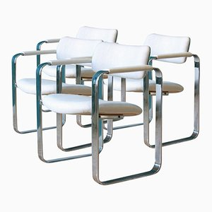 Armchairs by Eero Aarnio for Mobel Italia, 1960s, Set of 4