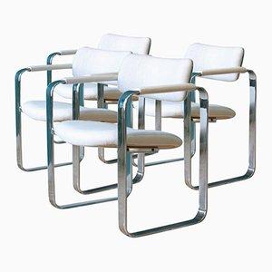Armchairs by Eero Aarnio for Mobel Italia, 1960s, Set of 4