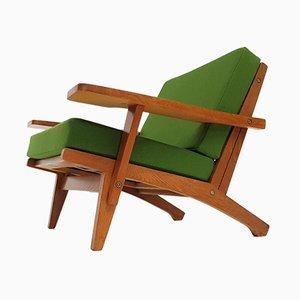 GE375 Chair aus Eiche von Hans J. Wegner für Getama, 1960er
