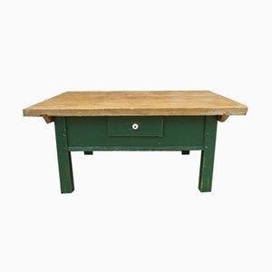 Table Basse Antique en Pin, France