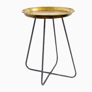 New Casablanca Medium Table in Brass by Young & Battaglia for Mineheart, 2018
