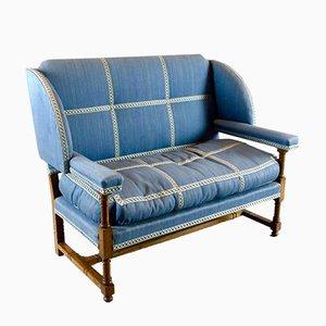 Englisches Nussholz Sofa von Morant & Co, 1900er