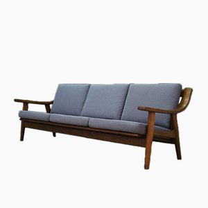 Danish Model GE530 Sofa by Hans J. Wegner for Getama, 1960s