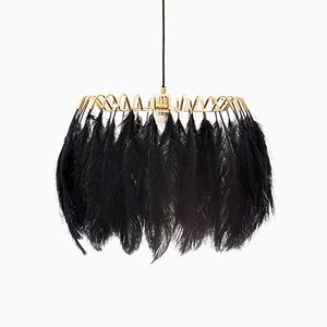 Black Feather Pendant Lamp by Young & Battaglia for Mineheart