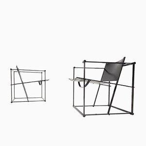 Postmodern FM62 Chairs by Radboud Van Beekum for Pastoe, 1980s, Set of 2