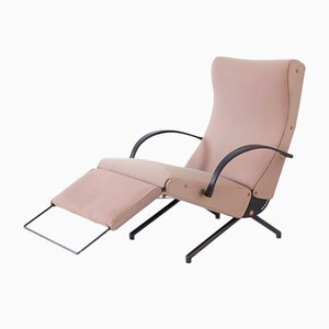 Vintage Series 1 P40 Lounge Chair by Osvaldo Borsani for Tecno