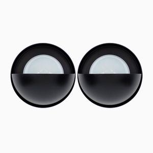 Eclipse Wandleuchten von Dijkstra, 1960er, 2er Set